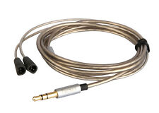 Upgrade Silver plated Audio Cable For Sennheiser IE80 IE8 IE8I earphones headset