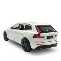 1/32 Scale XC60 2019 SUV Model Car Diecast Toy Vehicle White Kids with Light