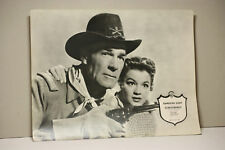 SCHUSSBEREIT - RANDOLPH SCOTT ANGIE DICKINSON Aushangfoto Lobbycard Shoot-Out at