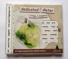 """""""Dedicated Dieter Fridge Magnets Poetry 301 Fridge Magnets With Reduced Calories"""