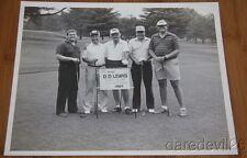 Vintage 1985 ARCHIE CAMPBELL D.D. LEWIS Celebrity Golf Tournament Press Photo