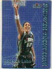 WNBA -WOMEN'S BASKETBALL CARD - HOOPS - BUILDING BLOCKS - REBECCA LOBO - #BB 2/8