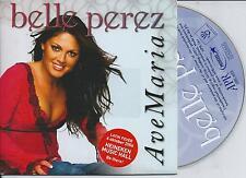 BELLE PEREZ - Ave Maria CD SINGLE 2TR + VIDEO CARDSLEEVE Latin 2006