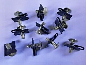 Land Rover Series 2 2a 3 Floor Screw & Captive Nuts X 10