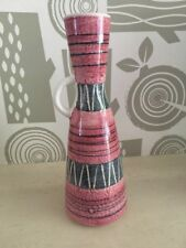 SCHEURICH? Red Mid Century Jug Bud vase WEST-GERMAN Vintage Retro 50s 60s