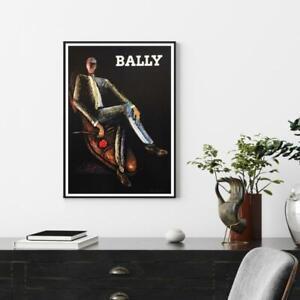 Home Hanging Decor Print Paper Canvas Wall Art - Figure Art - Bally Man Poster