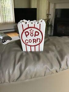 Yankee Candle Popcorn Boardwalk Tart Burner Rare & Super Hard To Find