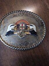 harley davidson belt buckle 1978