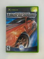 Need for Speed: Underground - Original Xbox Game - Complete & Tested