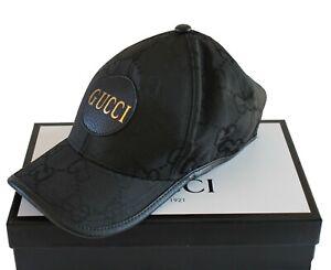 GUCCI Neu Damen Cap Herren HUT ORIGINAL UNISEX GG CAP LOVED SIZE: M GUCCI BOX