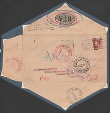1937 EDWARD VIII AROUND THE WORLD IN 128 DAYS FOR 11/2d LONDON TO SYDNEY COVER