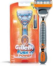 Gillette Fusion Power Razor Shaving Men, Duracell Battery, Preloaded Blade