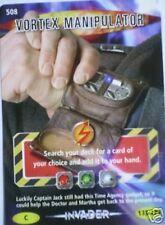 DR WHO INVADER CARD 508 VORTEX MANIPULATOR  - MINT !!