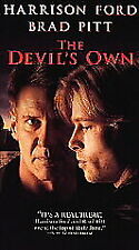 The Devil's Own VHS 1997 Harrison Ford Brad Pitt