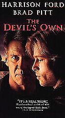 The Devil's Own VHS 1997 Harrison Ford Brad Pitt