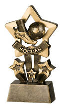 Soccer Star Resin Trophy Free Engraving