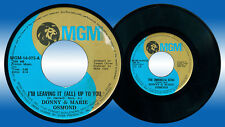 Philippines DONNY & MARIE OSMOND I'm Leaving It (All) Up To You 45 rpm Record