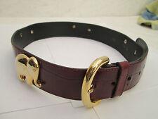 - AUTHENTIQUE  ceinture  FURLA  cuir  TBEG  vintage  à saisir