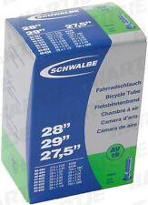 Fahrradschlauch Schwalbe Qualität  Nr.19 AV- 27,5+29 Zoll diverse Breiten  04040