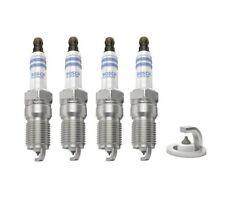 4 x BOSCH DOUBLE PLATINUM SPARK PLUGS FITS FORD MONDEO MK.3 MK.4 / MAZDA / VOLVO