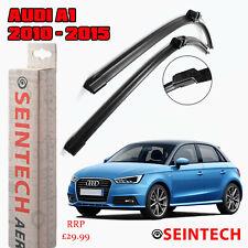 Pair Flat Aero type Front 2015 on Set Bosch AUDI A1 8X 1.0 2x Wiper Blades
