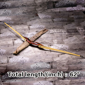 "62"" Takedown Handmade Long Bow Right Hand  Recurve Bow 25-55lbs"
