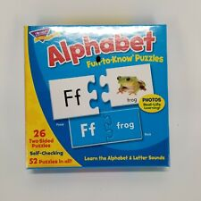 Alphabet Fun-To-Know Early Childhood Puzzles Trend Enterprises T36002