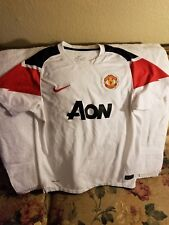 MANCHESTER UNITED SOCCER JERSEY - YOUTH LARGE - NIKE