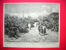 Nel 1885 nel Marocco - La strada che conduce a Tetuan
