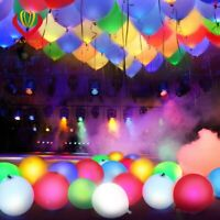LED light up Balloon multicolour PARTY Decoration Wedding Kids Birthday balloons