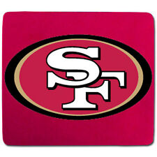 "San Francisco 49ers Neoprene Mouse Pad [NEW] 7"" x 8"" NFL Computer Mousepad"