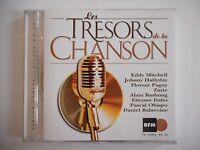 TIRAGE LIMITE : TRESORS DE LA CHANSON : HALLYDAY, MITCHELL | | CD EN OR Port 0€