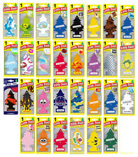 Mix of 50 Little Trees hanging Car Air Freshener assorted pack - Free Shipping