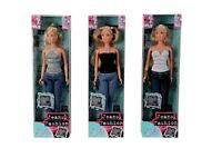 SIMBA Steffi Love Jeans Fashion Ankleidepuppe Puppe Anziehen Anziehpuppe Barbie