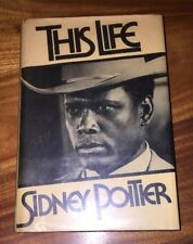 This Life by Sidney Poitier 1st Edition 2nd Printing (HC/DJ, 1980)