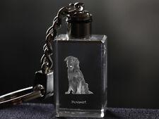 Hovawart, Dog Crystal Keyring, Keychain, High Quality, Crystal Animals Ca