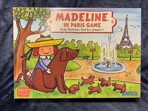 Madeline In Paris Board Game Help Madeline Find Her Puppies Brand NEW Sealed