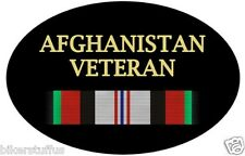 AFGHANISTAN VETERAN BUMPER STICKER TOOL BOX STICKER HARD HAT STICKER LAPTOP