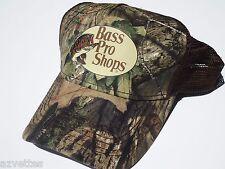 NEW! Camo Cap by BASS PRO SHOPS Adult Unisex MESH STYLE MOSSY OAK Hat