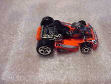 Hot Wheels Mint Loose Go Kart Orange with 5 Spoke Wheels