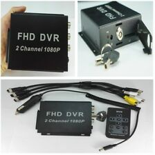 2CH Mini DVR Host Box for 1080P AHD Camera Mobile Digital Video Recorder for Car