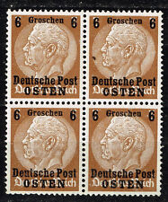Germany Start of WW2 General Government 1939 stamps Block of 4 MNH