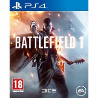 BATTLEFIELD 1 - PLAYSTATION 4 - PS4 - NEW SEALED - SAME DAY DISPATCH