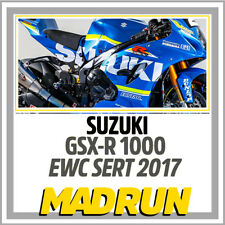 Kit Adesivi Suzuki GSX-R 1000 Team SERT EWC Endurance 2017 - Light Version