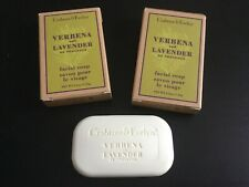 2 x Crabtree & Evelyn Verbena & Lavender Facial Soap Travel Size 25g