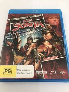 Red Sonja BLU RAY (1985 Arnold Schwarzenegger movie) - LIMITED EDITION