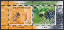 Montenegro 2005 Europa CEPT - Gastronomy, block, MNH