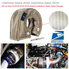 T4 Titanium Silica Stainless Steel Wire Turbo Blanket Shield Barrier Turbocharge
