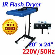 "220V 20"" x 24"" Screen Printing Automatic IR Flash Dryer with Sensor 6000W"