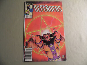Defenders #136 (Marvel 1984) Newsstand Variant / Free Domestic Shipping